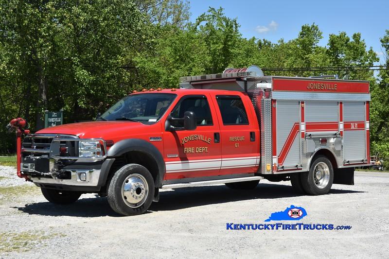 Jonesville Rescue 61<br /> x-Pilot, NC <br /> 2005 Ford F-550 4x4/Anchor-Richey 500/300/40<br /> Greg Stapleton photo