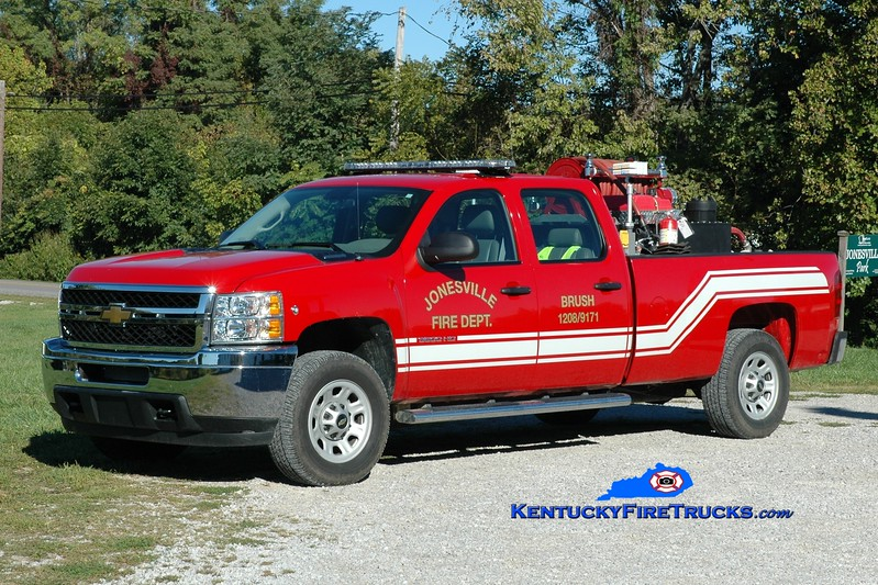 <center> Jonesville  Brush 1208 <br> 2011 Chevy 3500 4x4/RKO 250/250 <br> Greg Stapleton photo </center>