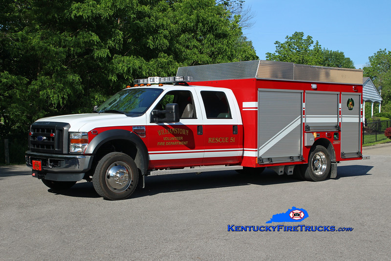 Williamstown  Rescue 51<br /> 2008 Ford F-550 4x4/2013 Summit 250/250<br /> Kent Parrish photo