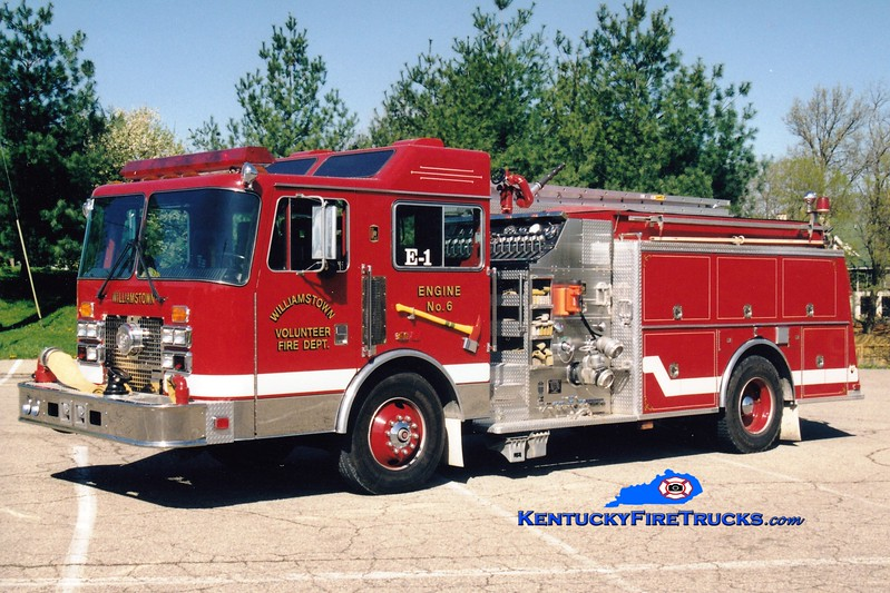<center> Williamstown  Engine 51 <br> 1992 KME Renegade 1500/750 <br> Greg Stapleton photo </center>