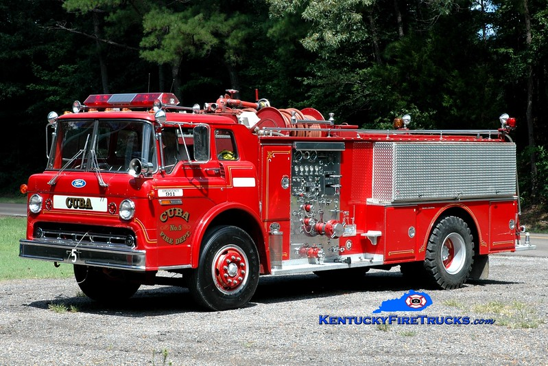 <center> Cuba  Engine 5 <br> x-Lumberton, NJ <br> 1975 Ford C-900/Oren-Great Eastern 1000/1000 <br> Greg Stapleton photo <br> </center>
