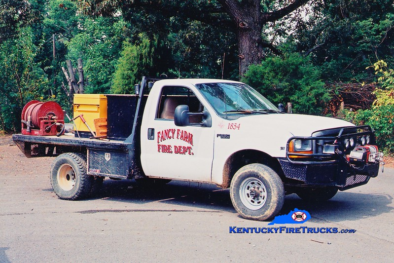 Fancy Farm  Brush 1854<br /> 1999 Ford F-350 4x4 50/200<br /> Greg Stapleton photo