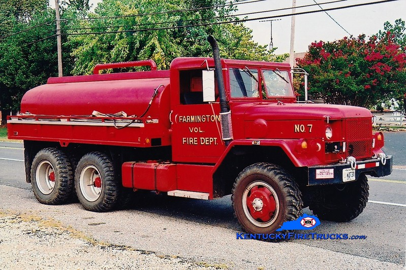 <center> Farmington  Tanker 7  <br> x-US Army <br> 1977 AM General M49/FD 250/1200 <br> Greg Stapleton photo </center>