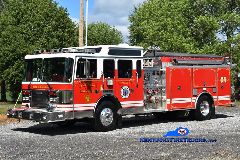 Mayfield-Graves County Engine 3<br /> x-Watts Twp, OH <br /> 1994 Pemfab/New Lexington 1500/1000<br /> Greg Stapleton photo