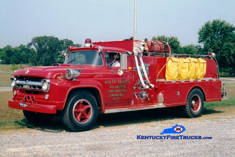 <center> North Graves  Engine 4152 <br> 1957 Ford F/Howe 500/650 <br> Greg Stapleton photo <br> </center>