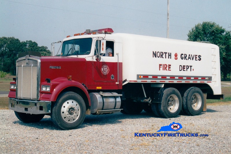 <center> North Graves  Tanker 4172 <br> 1983 Kenworth/Starr 0/3500<br> Greg Stapleton photo <br> </center>