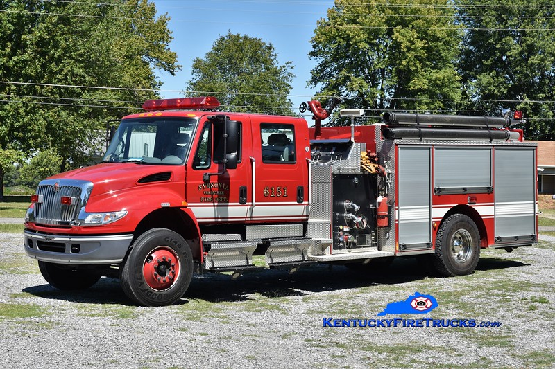 Symsonia  Engine 6151<br /> 2004 International 4400/Pierce 1250/1200<br /> Greg Stapleton photo