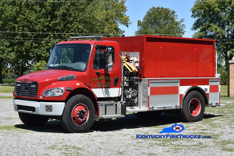 Symsonia  Tanker 6171<br /> 2014 Freightliner M2-106/Pierce 500/2000<br /> Greg Stapleton photo