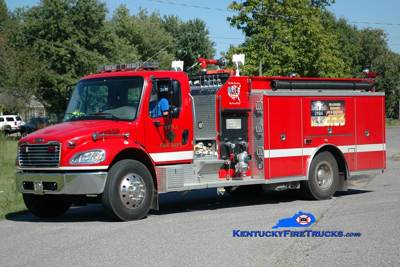 <center> Viola  Engine 2153 <br> 2005 Freightliner M2-106/Elite 1250/1000 <br> Greg Stapleton photo </center>