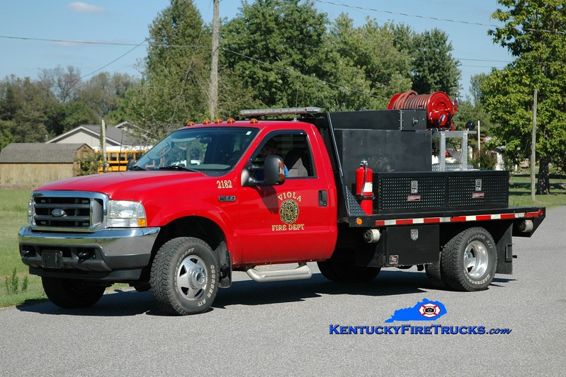 <center> Viola  Brush 2182 <br> 2002 Ford F-350 4x4/Stewarts/FD 250/250 <br> Greg Stapleton photo </center>