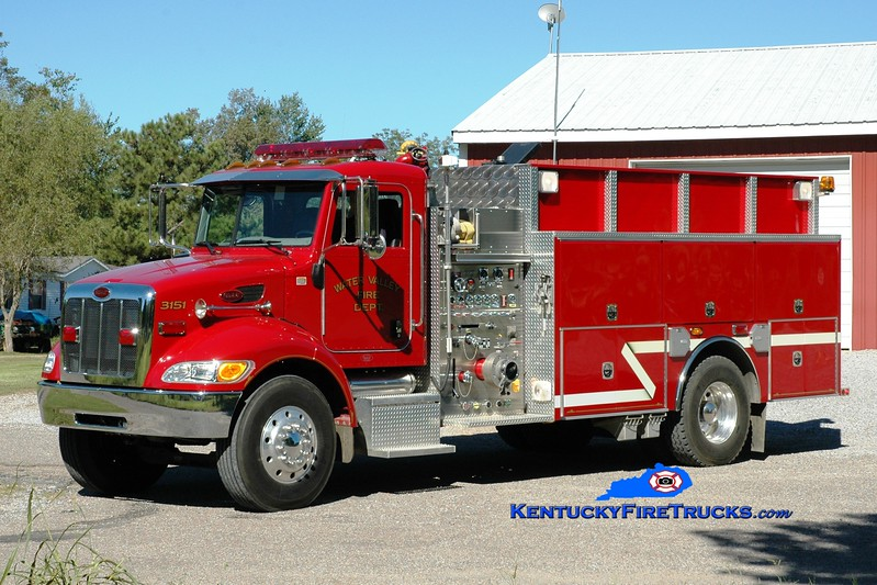<center> Water Valley  Engine 3151 <br> 2005 Peterbilt/4 Guys 1250/1500 <br> Greg Stapleton photo </center>