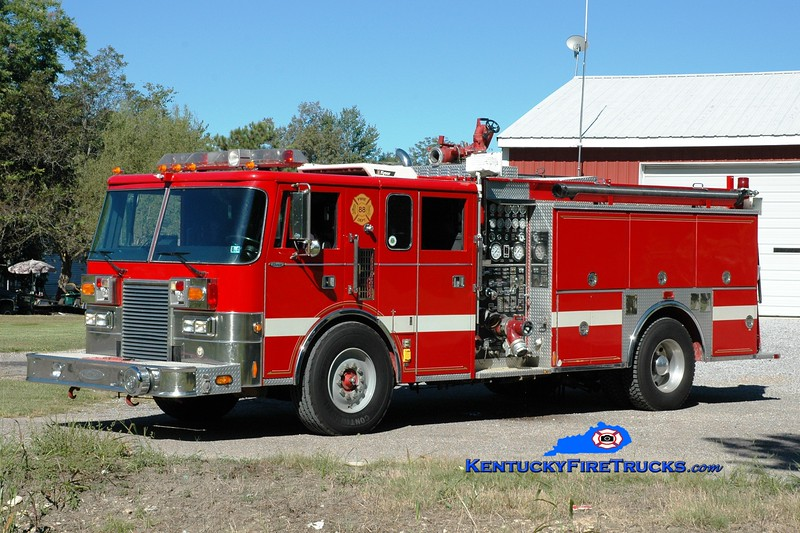 <center> Water Valley  Engine 3152 <br> x-Concordville, PA <br> 1989 Pierce Lance 1250/1000 <br> Greg Stapleton photo </center>