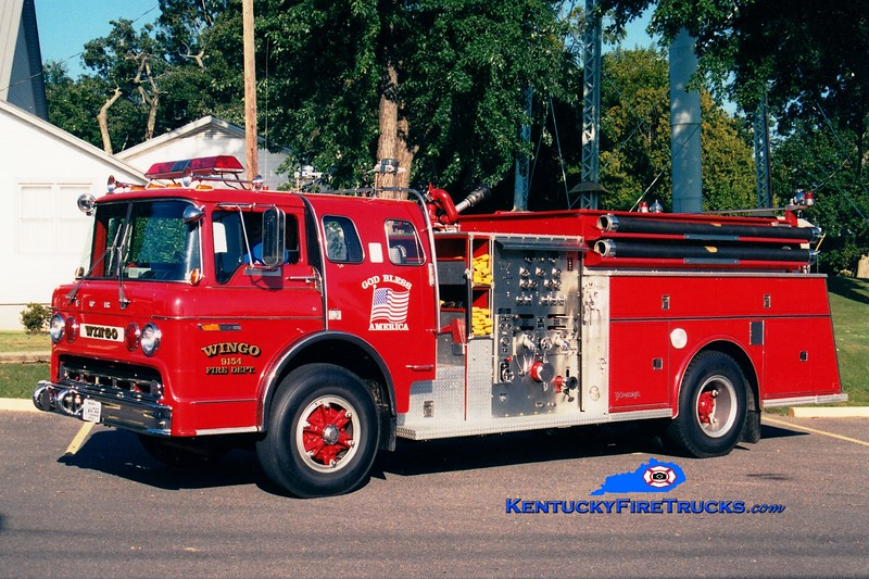 <center> Wingo  Engine 9154 <br> x-Colden, NY <br> 1984 Ford C/Young 1000/1000 <br> Greg Stapleton photo </center>