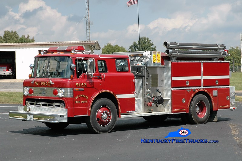 Wingo  Engine 9152<br /> 1989 Ford C-8000/Grumman 1250/1000<br /> Greg Stapleton photo