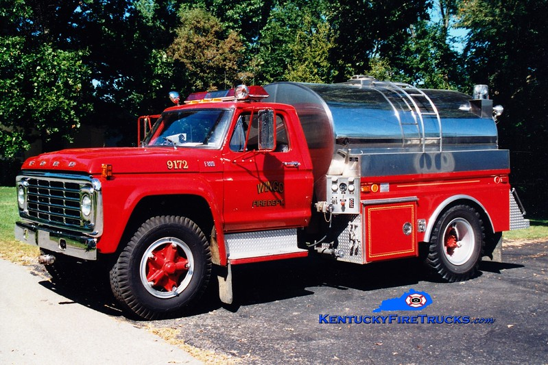 <center> Wingo  Tanker 9172 <br> 1979 Ford F/4 Guys 250/1600 <br> Greg Stapleton photo </center>