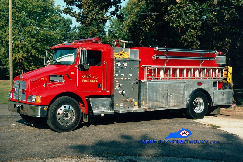 <center> Wingo  Tanker 9171 <br> 2005 Kenworth T-300/Southern Fire 500/2000 <br> Greg Stapleton photo </center>