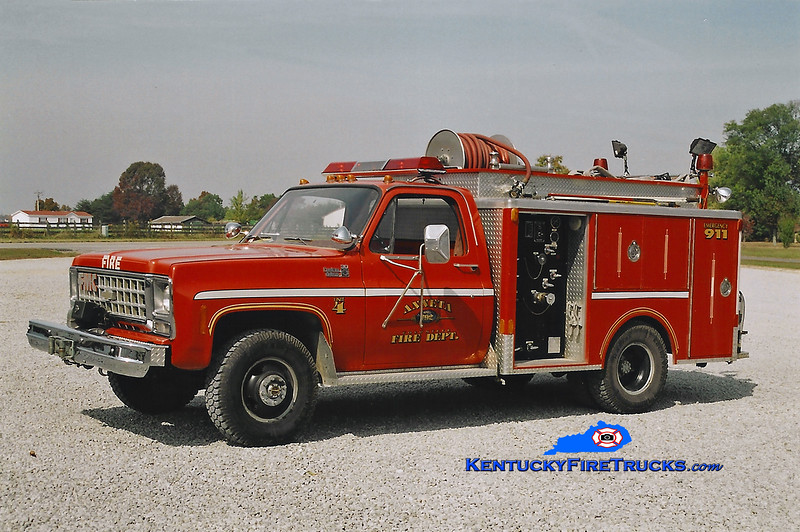 <center> RETIRED <br> Anneta  Unit 4 <br> 1980 Chevy C30 4x4/Indiana-FMC 300/250 <br> Kent Parrish photo <br> </center>