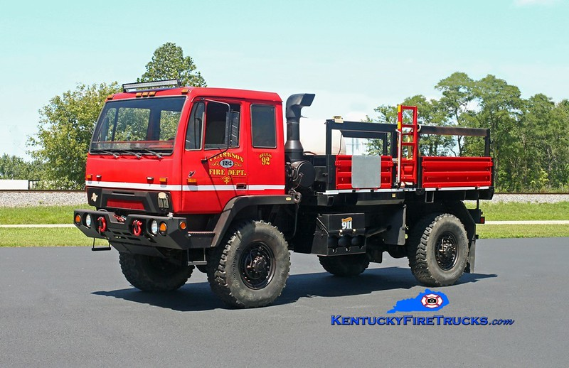 Clarkson  Brush 92<br /> x-US Army<br /> 1996 Stewart & Stevenson M1078 4x4/2017 CFD 250/250<br /> Kent Parrish