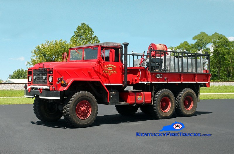 Clarkson  Brush 93<br /> x-US Army<br /> 1987 AM General M924 6x6/CFD 500/1300<br /> Kent Parrish photo