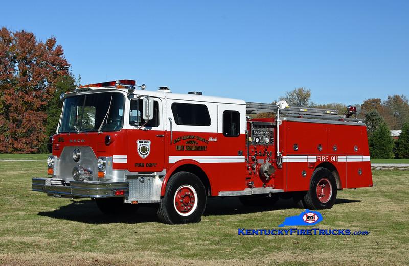 East Grayson  Engine 73<br /> x-Elizabethtown & Valley Creek, KY<br /> 1979 Mack CF/1996 Summit 1500/500<br /> Kent Parrish photo