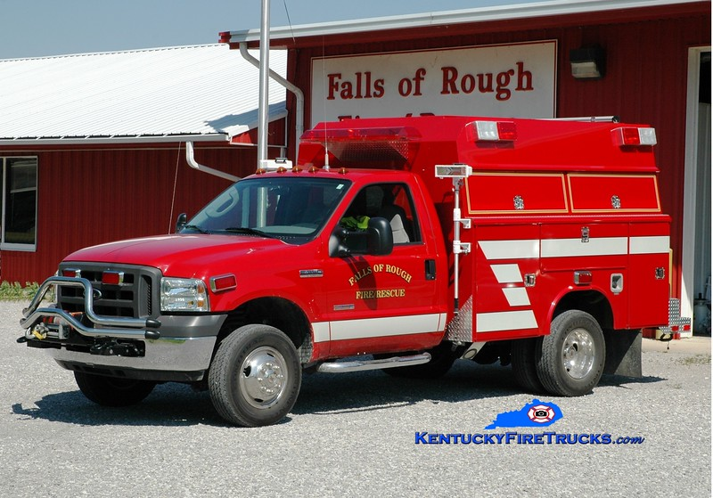 <center> Falls of Rough  Rescue 1  <br> 2012 Ford F-350 4x4/Reading/Fouts Bros <br> Greg Stapleton photo </center>