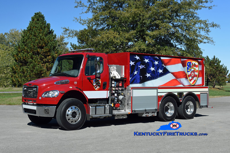 Leitchfield  Engine 6<br /> 2019 Freightliner M2-106/Pierce 1000/3000/30<br /> Kent Parrish photo