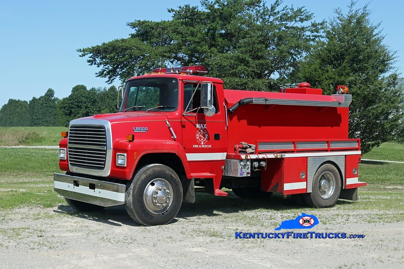 Wax  Tanker 82<br /> 1993 Ford L8000/Deep South 250/1850<br /> Kent Parrish photo