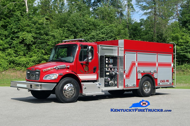 Wax  Engine 81<br /> 2014 Freightliner M2-106/Pierce 1250/1000<br /> Kent Parrish photo