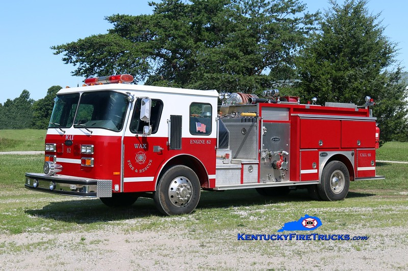Wax  Engine 82<br /> x-Hillsborough County, FL<br /> 1988 E-One Cyclone 1000/750<br /> Kent Parrish photo