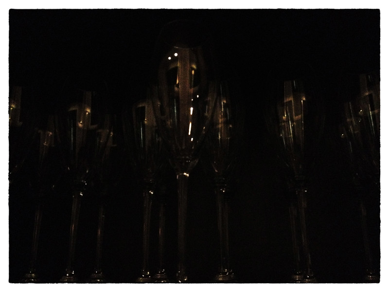 Delhi, India, Feb 2013 -    Champange glasses at The Lodhi hotel, a five star hotel in Delhi.     Images for the Global Post's special report -   The Great Divide:  Global income inequality and its cost    Photograph:  Sami SIVA