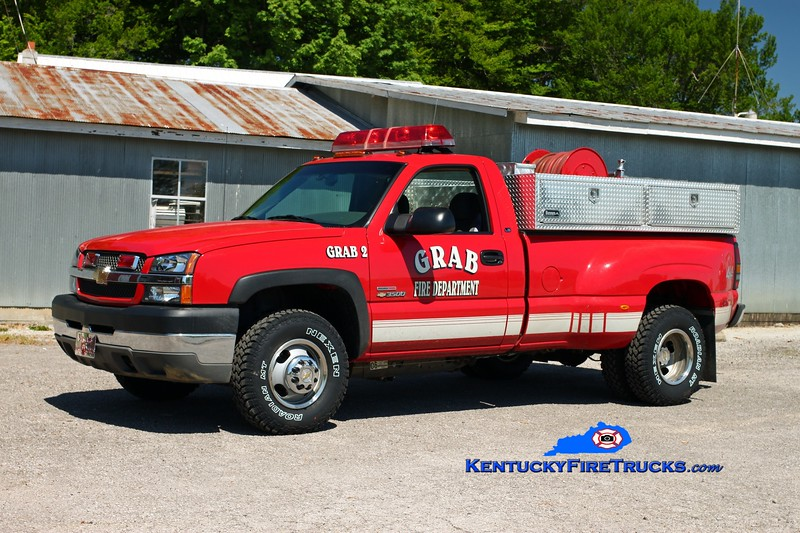 <center> Grab  Unit 2 <br> 2003 Chevy 3500 4x4/Wynn 250/250 <br> Kent Parrish photo </center>