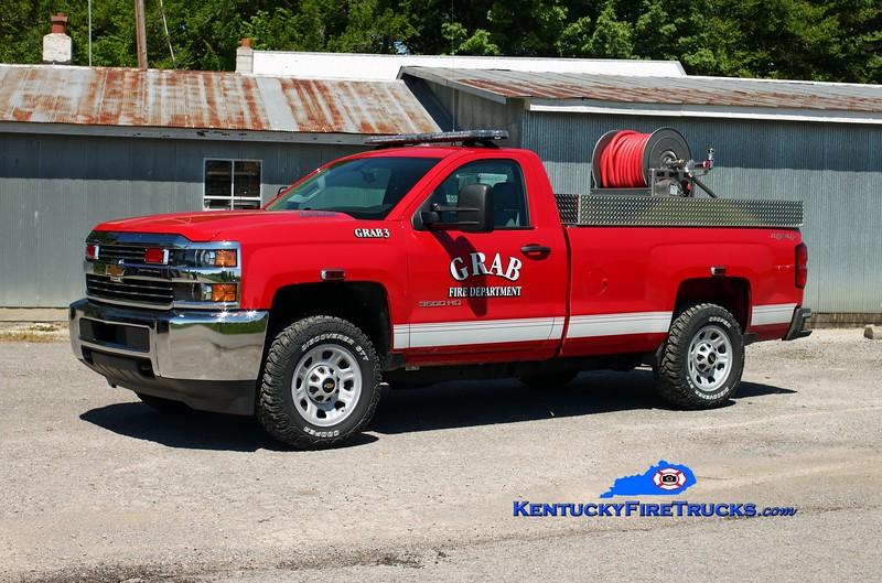 <center> Grab  Unit 3 <br> 2014 Chevy 3500 4x4/Southeast 250/200 <br> Kent Parrish photo </center>
