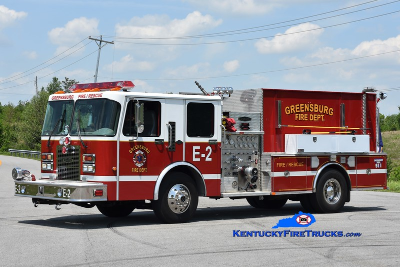 Greensburg Engine 2<br /> x-Warriors Path, NC<br /> 1996 Spartan/Quality 1250/1500<br /> Greg Stapleton photo