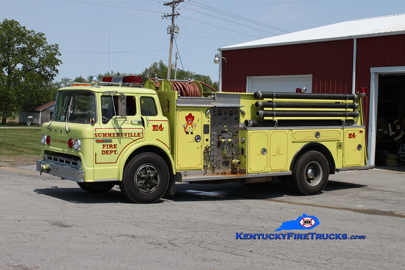 <center> RETIRED <br> Summersville  Engine 4  <br> 1979 Ford C-900/Amthor 750/1000 <br> Greg Stapleton photo </center>