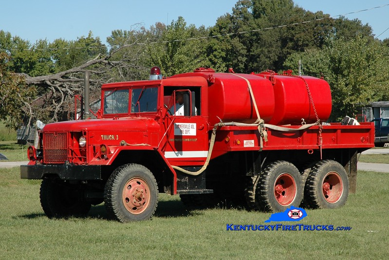 Summersville  Tanker 3<br /> x-Lincoln County, KY<br /> 1981 AM General M35/FD 250/1200<br /> Greg Stapleton photo