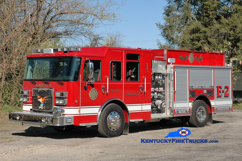 Greenup  Engine 2<br /> 2015 Pierce Saber 1500/1000<br /> Greg Stapleton photo