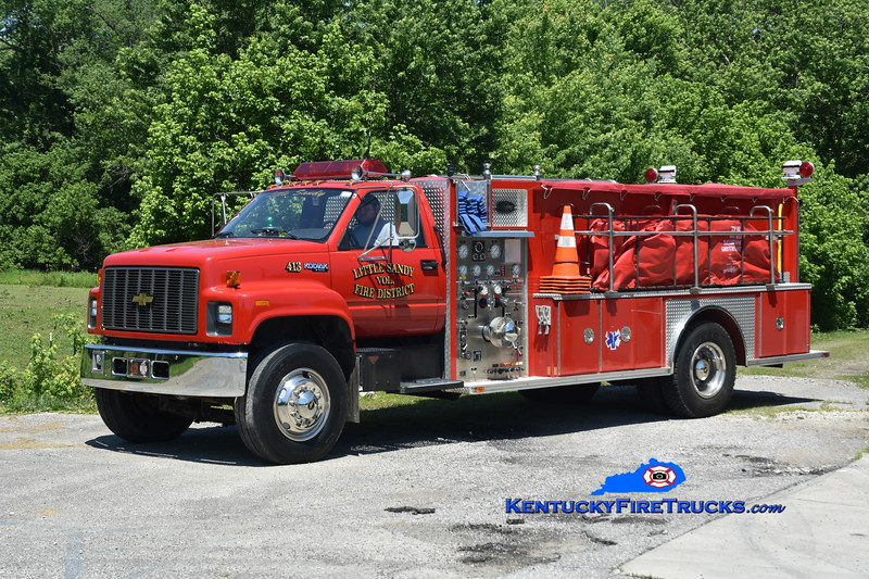 Little Sandy Engine 3 <br /> 1993 Chevy Kodiak/Allegheny 1000/1500 <br /> Greg Stapleton photo