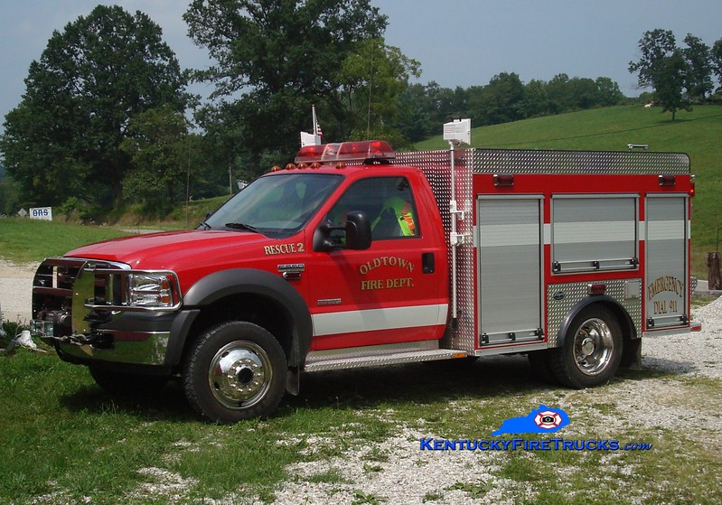 <center> Oldtown  Rescue 2 <br> 2004 Ford F-550 4x4/Wynn  <br> Greg Stapleton photo </center>