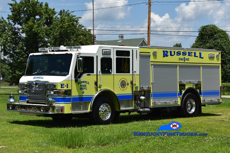 Russell Engine 1<br /> 2018 Pierce Impel 1500/1000<br /> Greg Stapleton photo