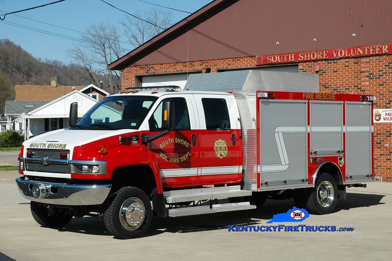 South Shore  Rescue 1<br /> 2009 Chevy C5500 4x4/Wynn<br /> Greg Stapleton photo