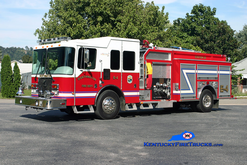 <center> Worthington  Engine 4 <br> 2008 HME/Ferrara Intruder 2 1250/1000 <br> Kent Parrish photo </center>