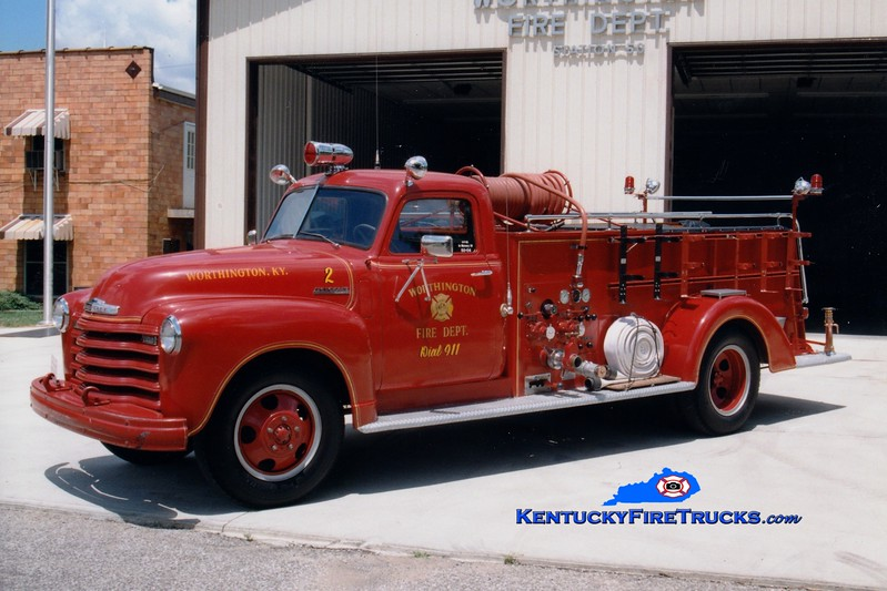 <center> Worthington  Engine 2 <br> 1948 Chevy/Boyer 500/500 <br> Greg Stapleton photo </center>