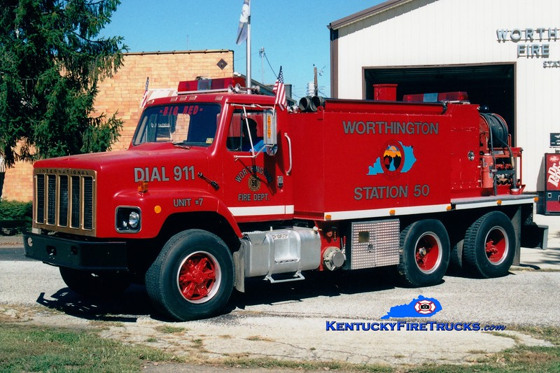 <center> Worthington  Tanker 7 <br> 1979 International/WFD/Ansul 500/2000 <br> Greg Stapleton photo </center>