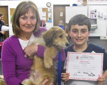 Phoenix graduates from Puppy Headstart!