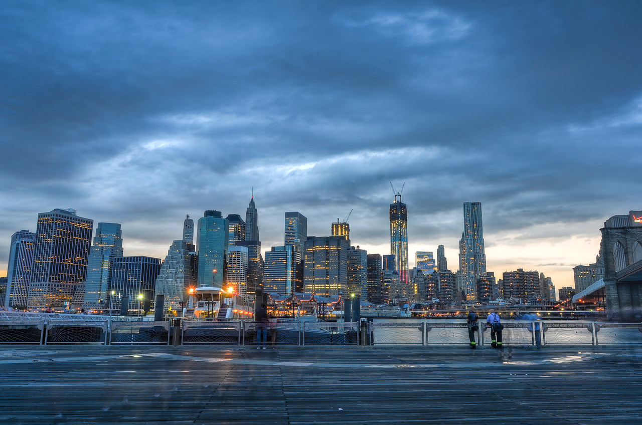 Lower Manhattan from Brooklyn