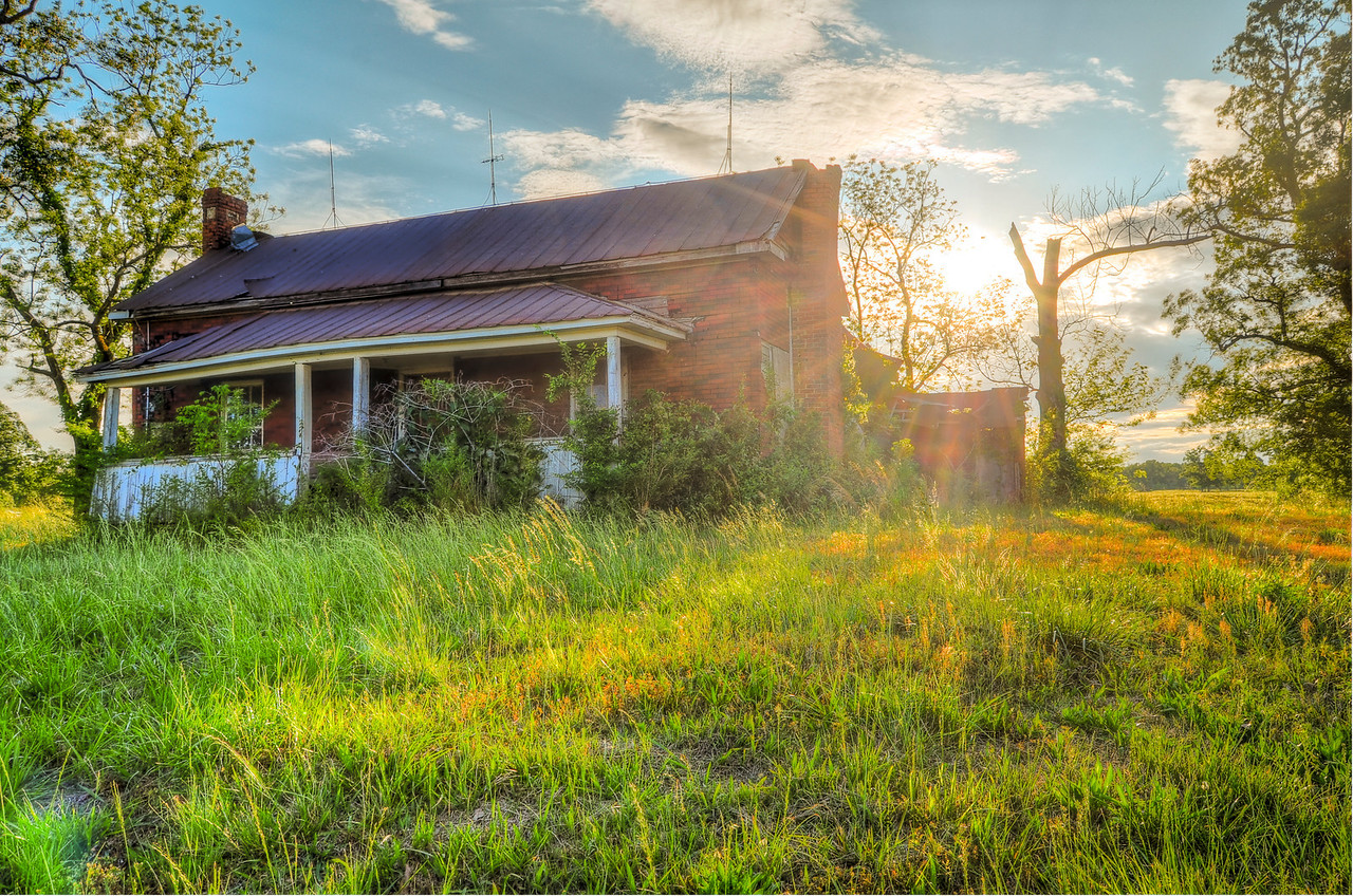 Country Dilapidation, Sunset