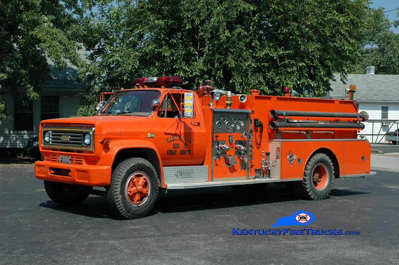 <center> RETIRED <br> Hawesville  Engine 202  <br> 1984 Chevy/FMC 750/1000 <br> Greg Stapleton photo </center>