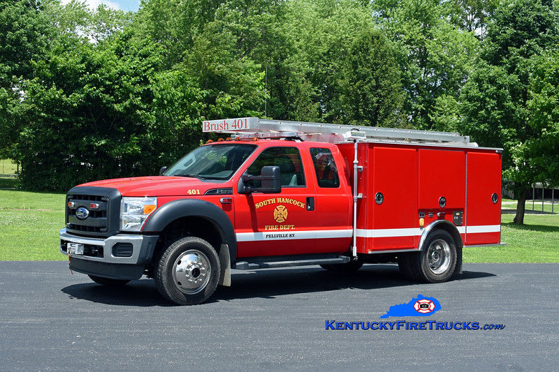 South Hancock Brush 401<br /> 2015 Ford F-550 4x4/Gerry's Automotive 250/300<br /> Kent Parrish photo