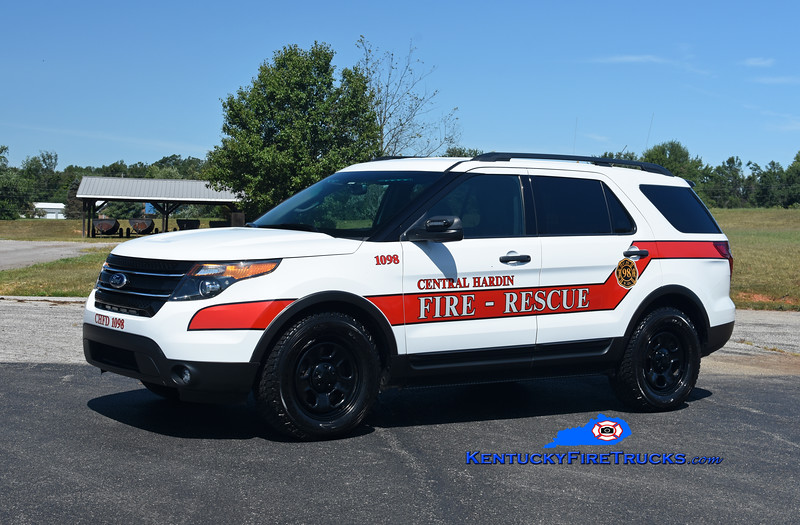 Central Hardin Utility 1098<br /> 2012 Ford Explorer 4x4<br /> Kent Parrish photo