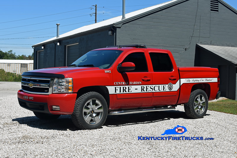 Central Hardin Utility 1092<br /> 2007 Chevy 1500 4x4<br /> Kent Parrish photo